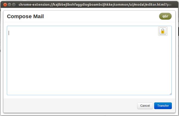 redactar correo encriptado