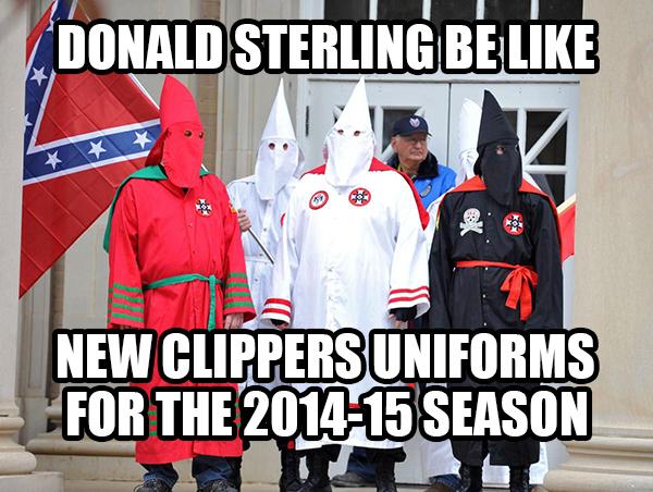 Las declaraciones racistas de Sterling sacudieron la liga y acabaron llevando a su expulsión de la misma.