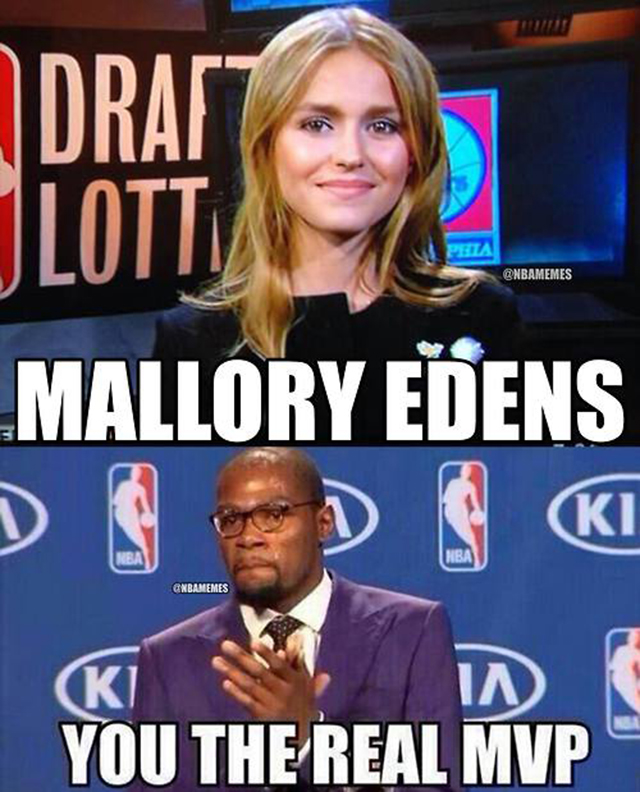 Mallory Edens & Kevin Durant