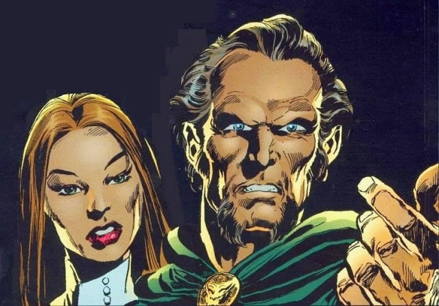 Ra's Al Ghul y su hija Talia