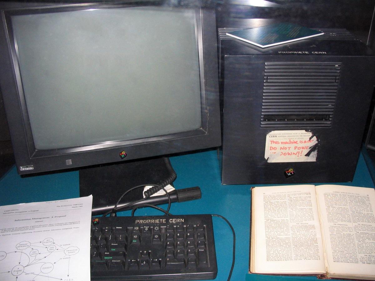Primer Servidor WEB CERN
