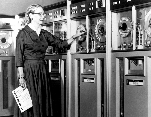 Grace Hopper en 1952