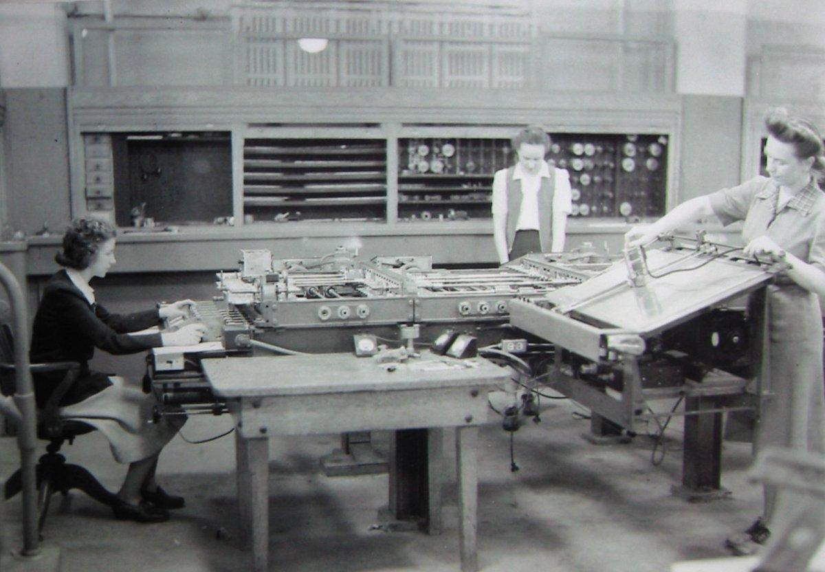 Programadoras del ENIAC