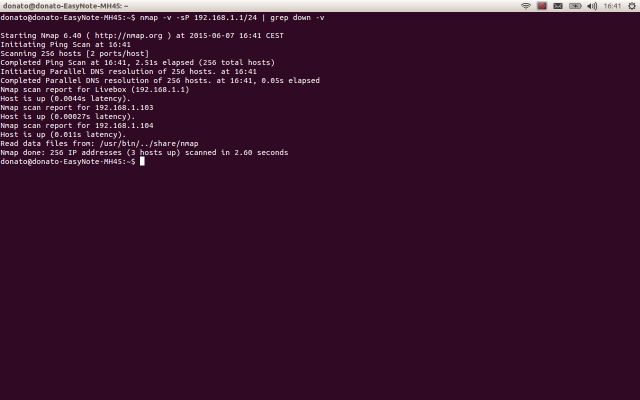 Escaneando ip con nMap