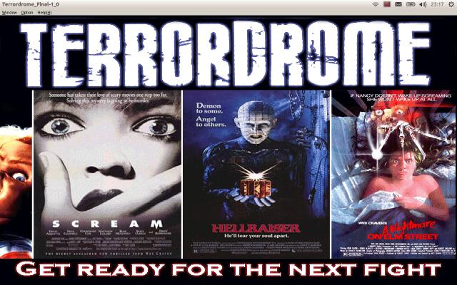 Carátulas películas Terrordrome