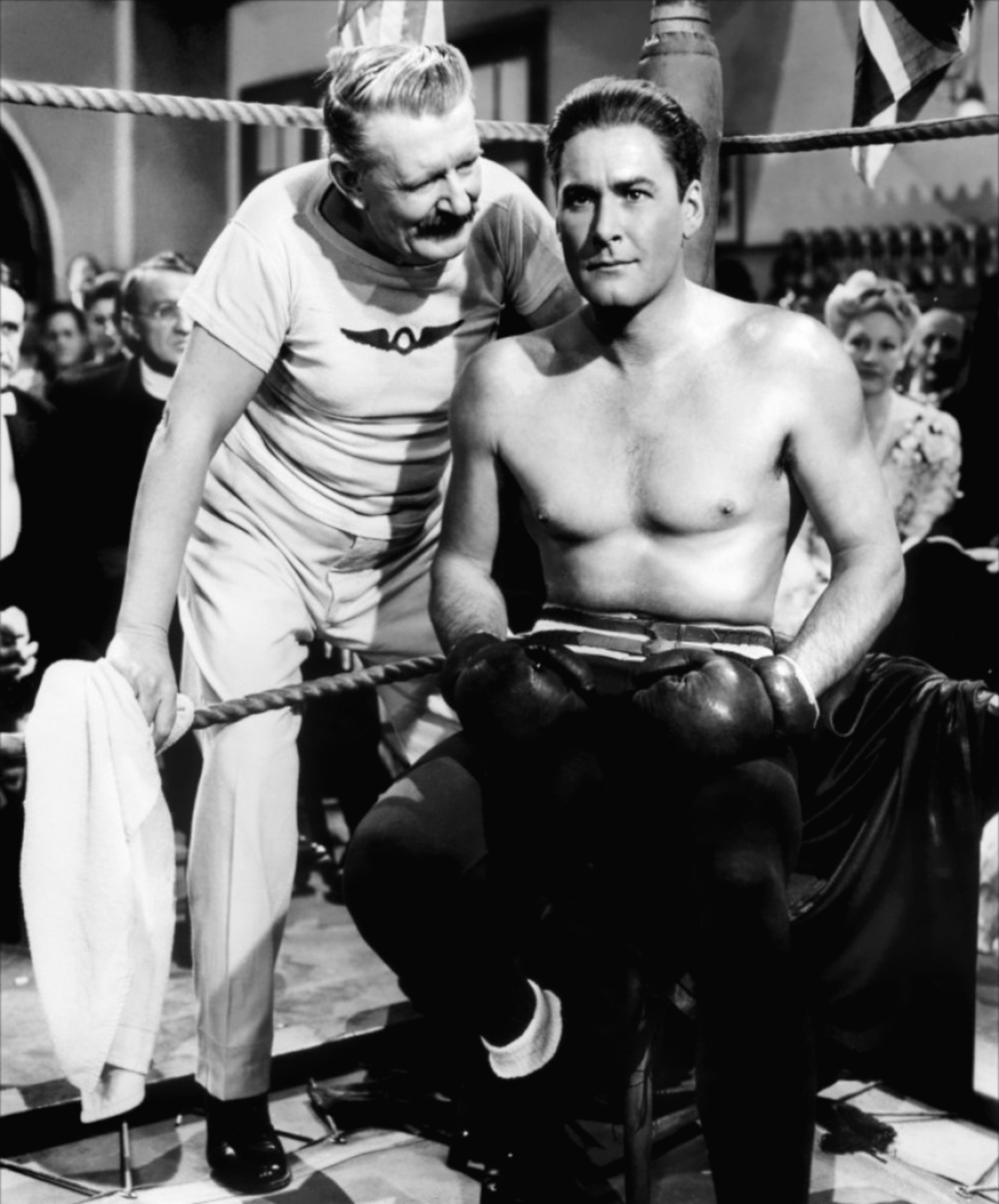 Errol Flynn en Gentleman Jim