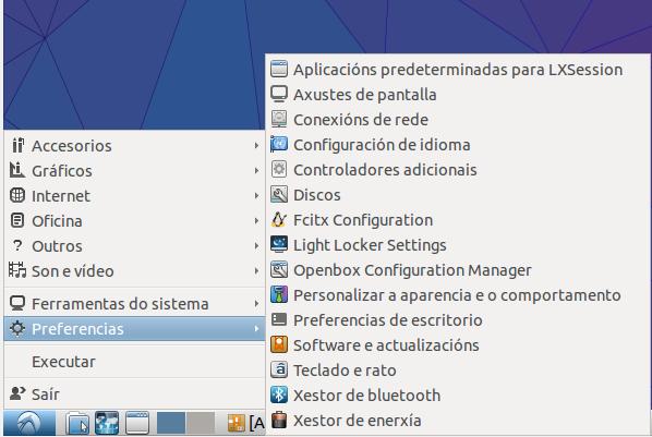 Lubuntu software actualizacións