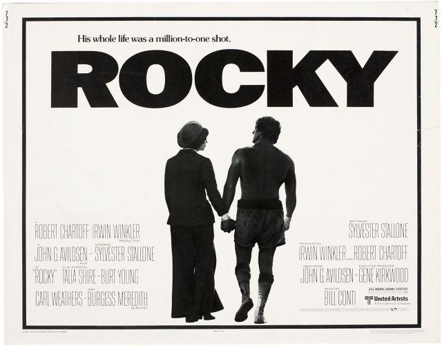 Cartel promocional de Rocky