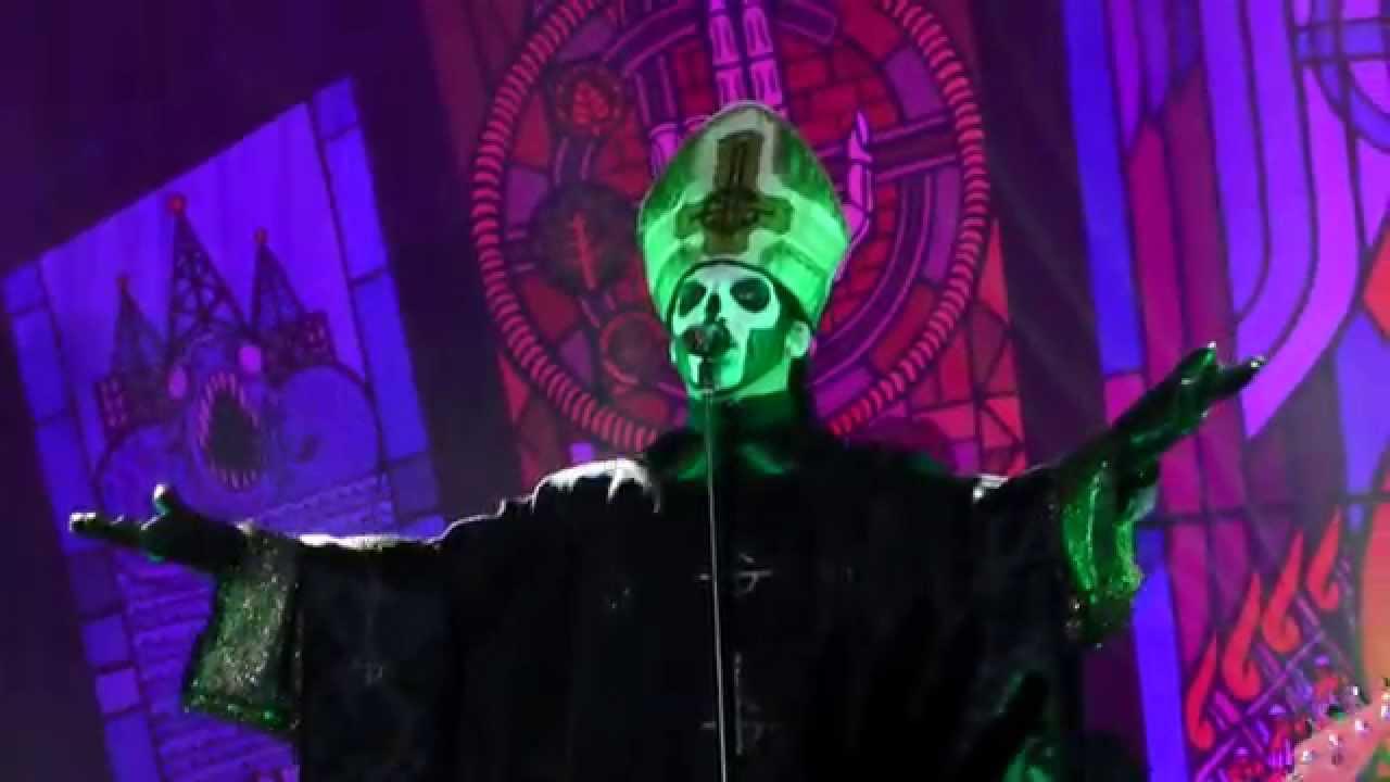 Emeritus III Ghost live