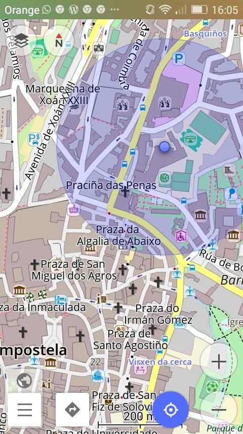 OsmAnd Compostela
