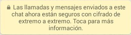 actualización seguridad whatsapp