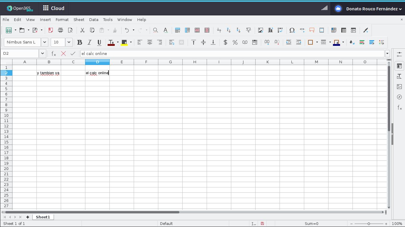 LibreOffice Calc Open365
