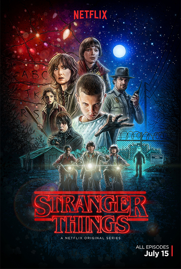 Stranger Things, cartel