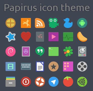 iconos papirus
