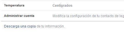 Facebook: Enlace descargar fichero